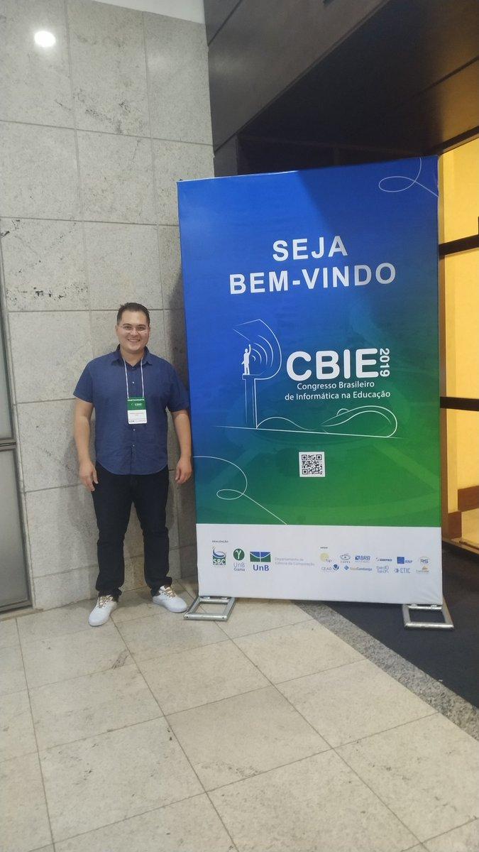 Vamos de #cbie2019 #sbie #bsb #sbie2019 #brasil #computacao #ufpi #ifpi #campomaior #piaui