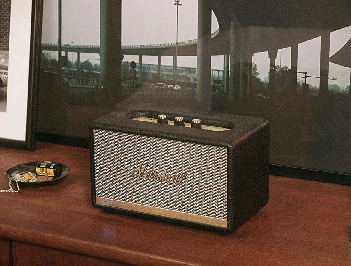 if he has the marshall bluetooth speaker, he's cheating on you