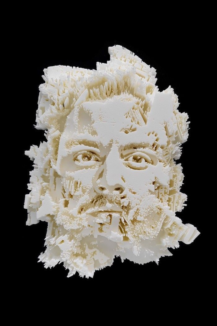 The good folks over at @AvantArte are back in the news feed. This time they have partnered with the acclaimed sculptor Alexandre Farto aka Vhils for a new collaboration. Take a closer look and find out more here...  #Art #Vhils #TheCultureCurators