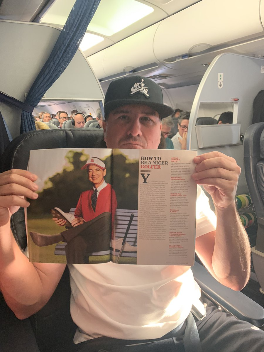 Look at what I caught Pat Perez reading on the flight today!!!! 🤣🤣🤣