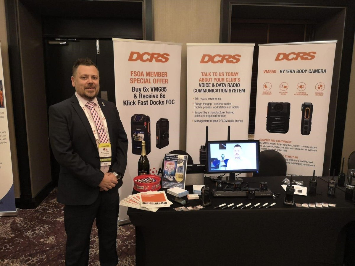 Thanks for coming to see us @TheFSOA conference last month. It was another great event, however, should we not had chance to speak please contact me in the future and I would be more than happy to discuss your requirements with you > https://t.co/sATUZXDuIN #football #security