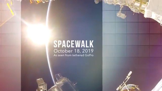 Peek outside the @Space_Station and experience the first #AllWomanSpacewalk with us. Our hope is to share this privilege with all of you on our magnificent Earth below. wapo.st/2pfRnYU