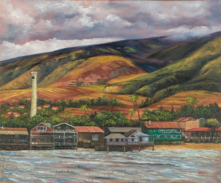 """Featured Art of the Day: """"Smokestack Lahaina Maui"""". Buy it at:  https://www. ArtPal.com/darice?i=10440 2-48  … <br>http://pic.twitter.com/cez6lgOT3P"""