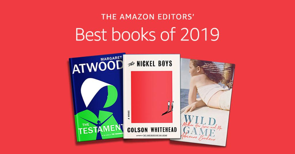 Announcing the Amazon editors' picks for the best books of 2019.  See the top 100 reads of the year:  #amazonbestbooks