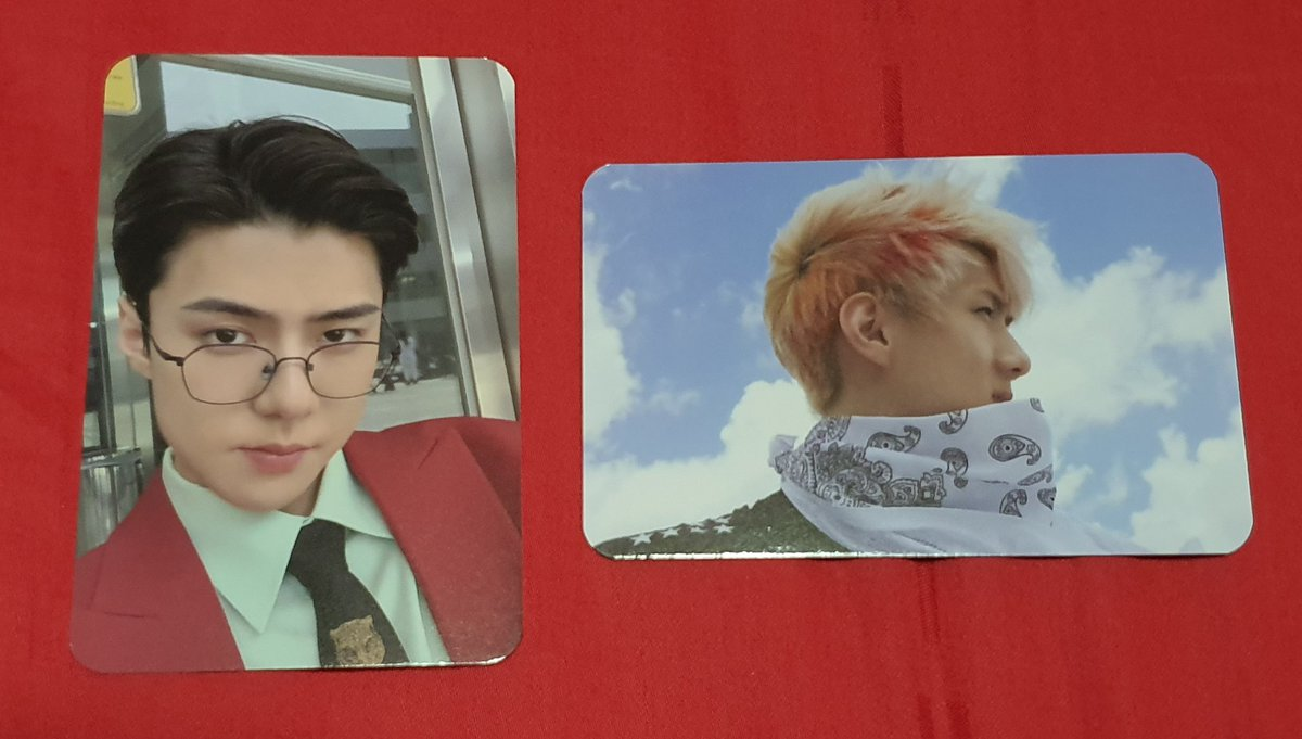 [WTS] EXO-SC What a life #SEHUN Kihno Photocards $15 each <br>http://pic.twitter.com/iUXIh9Ma4t