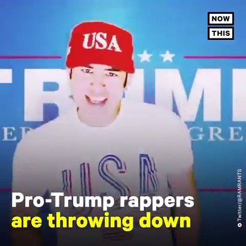 Pro-Trump 'rappers' are stepping up to the  #MAGAChallenge and the cringe is real