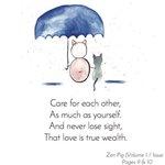 Image for the Tweet beginning: love is true wealth. 🕉🐷✨