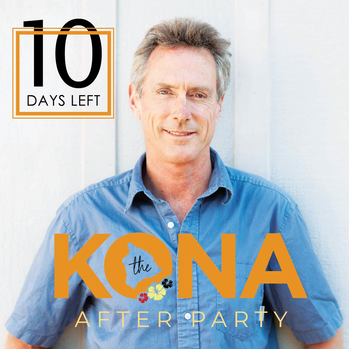 1️⃣0️⃣ days until the Kona After Party! 6X IRONMAN World Champion Mark Allen will join us on the red carpet ahead of IRONMAN Arizona to relive this years World Championship! 🎟: ironmanfoundation.org/KonaAfterParty