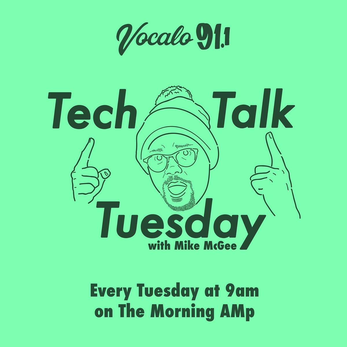 #Amazon is opening up a grocery store and #Apple credit card is being investigated for discrimination against women. This and more on #TechTalk with @michaelmcgee up next on @TheMorningAMp! Tune in: 📻91.1FM 💻vocalo.org/player 📱Vocalo app