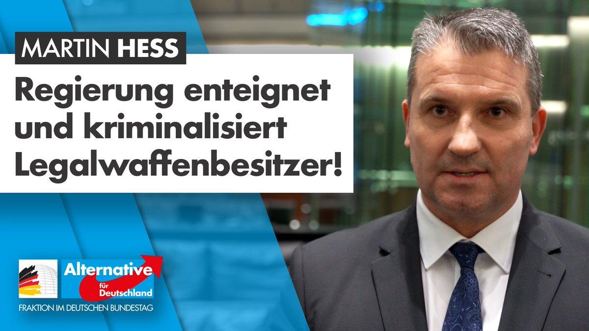 Image for the Tweet beginning: +++Waffenrechtsverschärfung der Regierung enteignet und