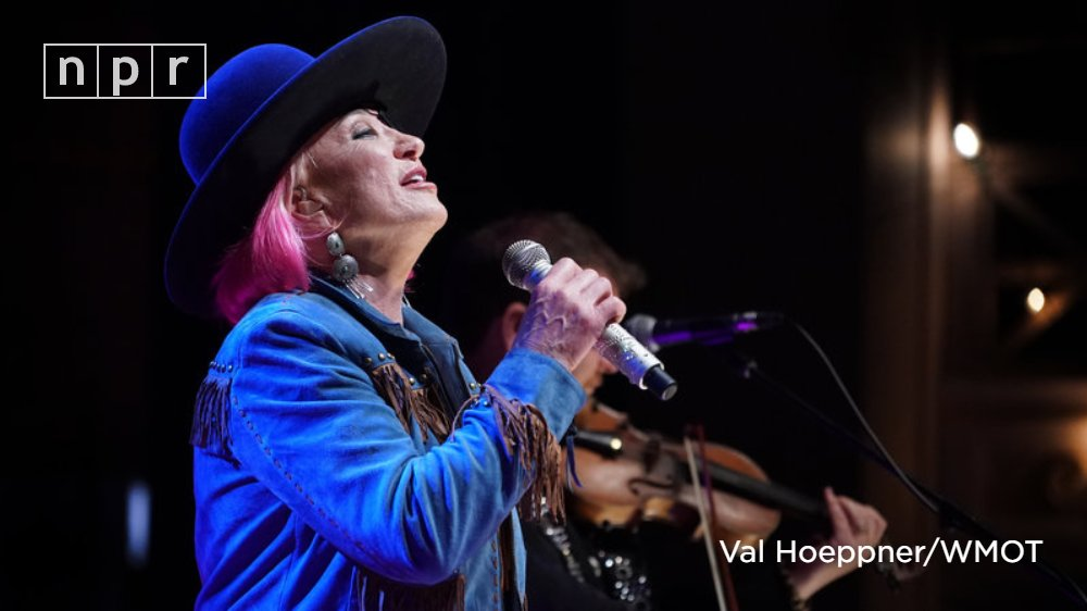 On todays @worldcafe, hear @tanya_tucker perform selections from her new album While Im Livin produced by @BrandiCarlile and @ShooterJennings at the 2019 AmericanaFest Day Stage. n.pr/2X4Sze8