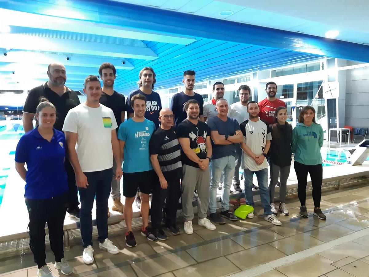 📣 Segona jornada d'avaluació de seguiment infantil/aleví de #natació 🏊♀️ 🏊♂️ amb 16 tècnics i tècniques i 35 esportistes #moltcontents #nataciócatalana ⚡🔝 https://t.co/U0d93eXlCi