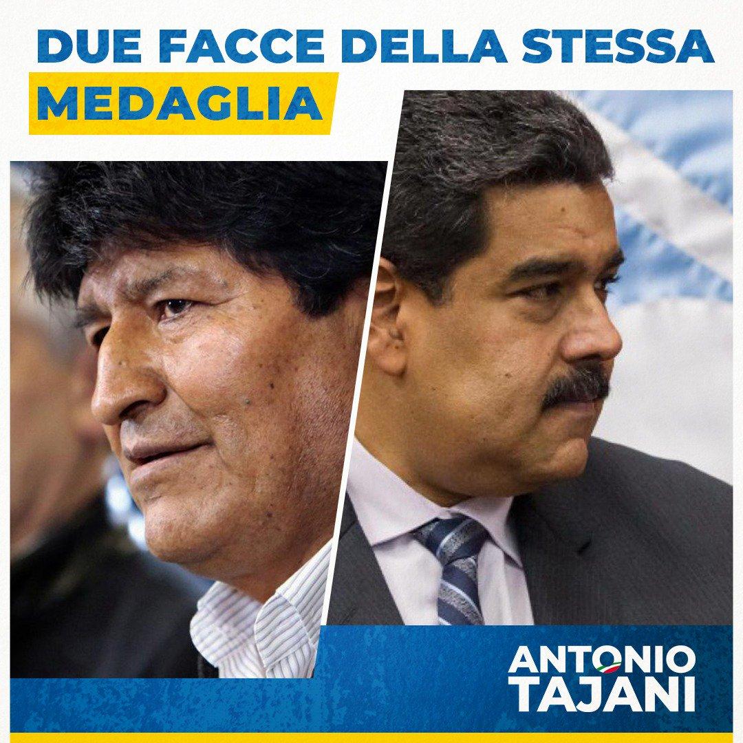 Deseamos que la transición democrática actual de #Bolivia, se extienda también en #Venezuela. Las palabras de última hora de Maduro son una señal de miedo, ha entendido que no es eterno, ha entendido que reprimir a su propio pueblo fue un error.