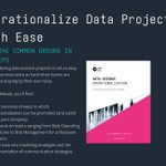 Image for the Tweet beginning: How to Operationalize Data Science