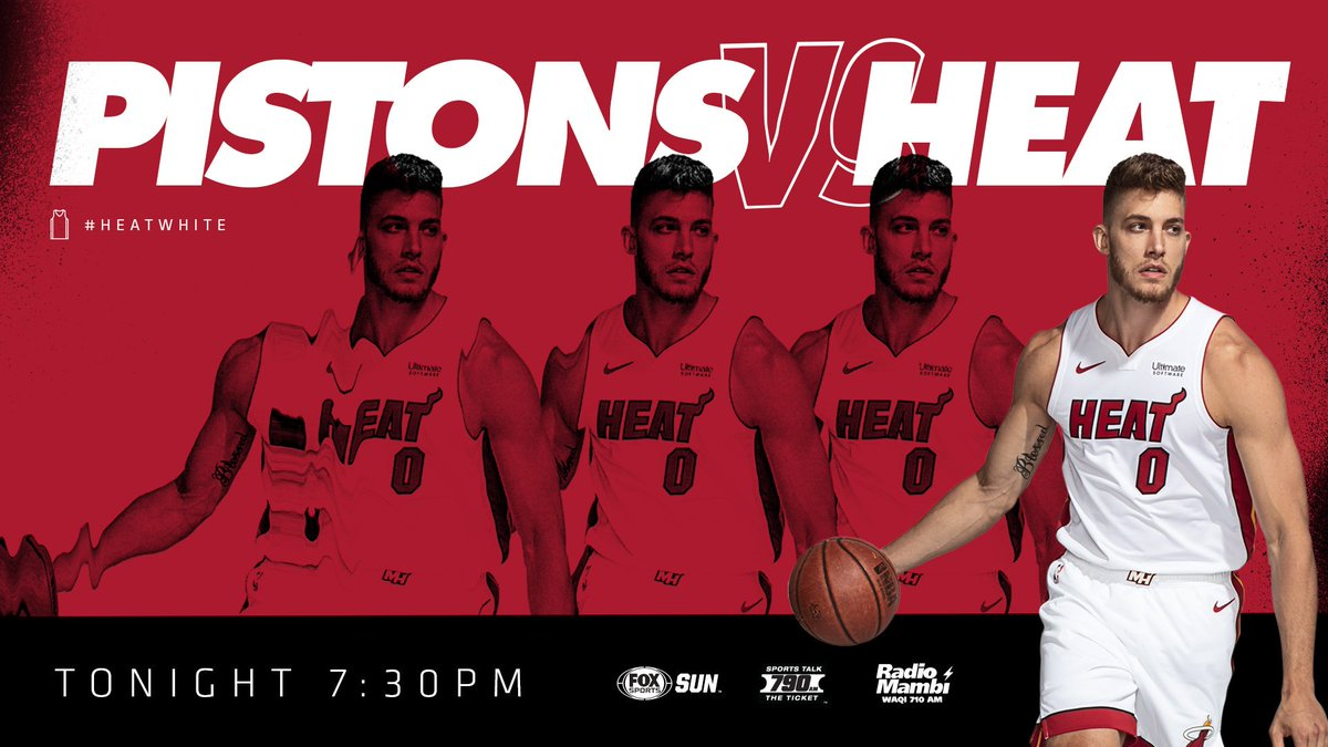 Back on our home turf tonight.