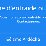 Image for the Tweet beginning: #Séisme #Ardeche : la plateforme