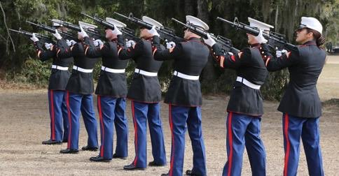 "University of Virginia cancelled its 21 gun salute honoring our nation's Veterans, because students might panic by the sound of gunfire. REALLY!When I was their age, I and others were in Vietnam hearing & making plenty of gunfire. GIVE THEM ""DIAPERS"" & CONTINUE THE TRADITION‼️🇺🇸"