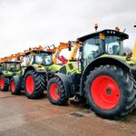 Image for the Tweet beginning: What a 'Claas' line up.
