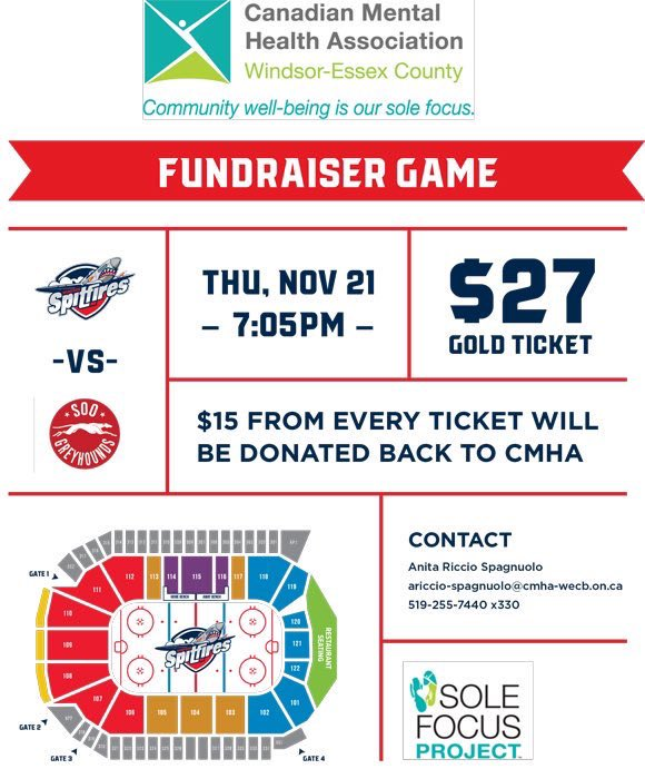 test Twitter Media - Please retweet, share on other platforms. We're looking to support a great community partner @SpitsHockey & provide a platform for @OfficialWCCA @WCCAMusic @WCCAVocal & use $$ raised to help w/ education for #mentalhealth awareness & our bereavement program @kwillism https://t.co/OMWldla91l