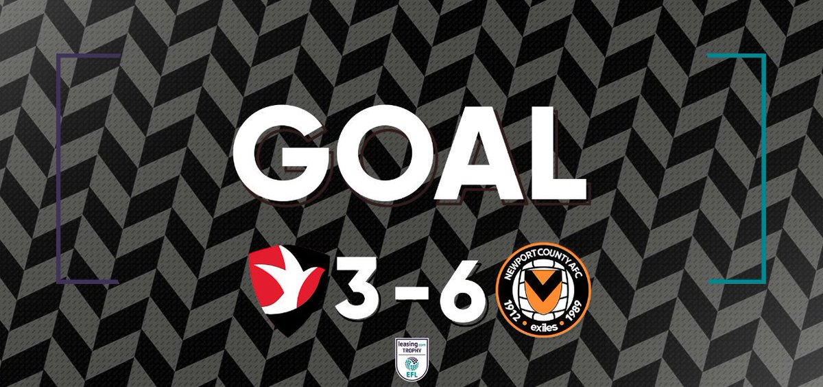 53' IT'S SIX! TAYLOR MALONEY HAS A HAT-TRICK! WHAT A GAME!  A wonderful finish in to the top right corner from the loanee midfielder, County extended their lead once again!   Back to the centre-circle for the ninth time this game...   #CTFC 3 - 6 #NCAFC #OurJourneyContinues https://t.co/sPWXxFkM5d