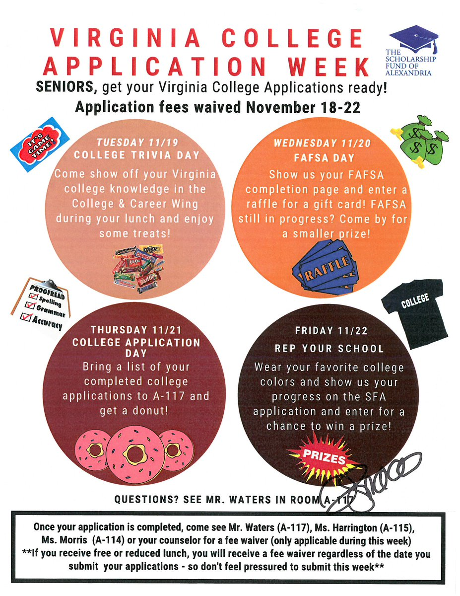 free college application week 2020