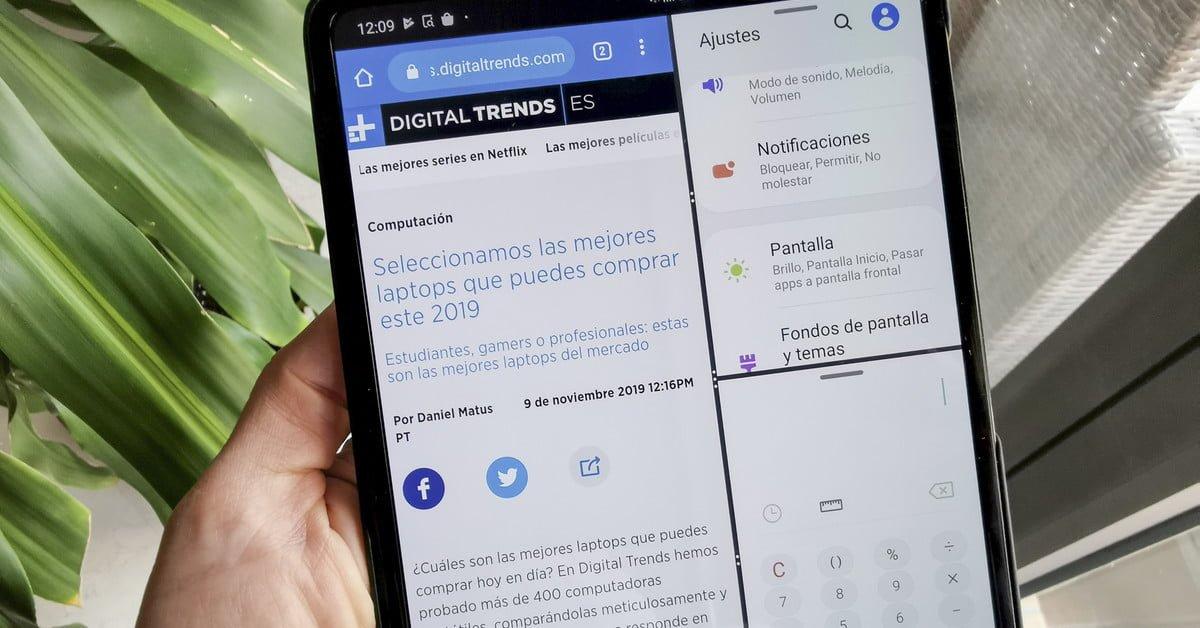 Revisión del #Samsung #Galaxy Fold, el teléfono con pantalla plegable