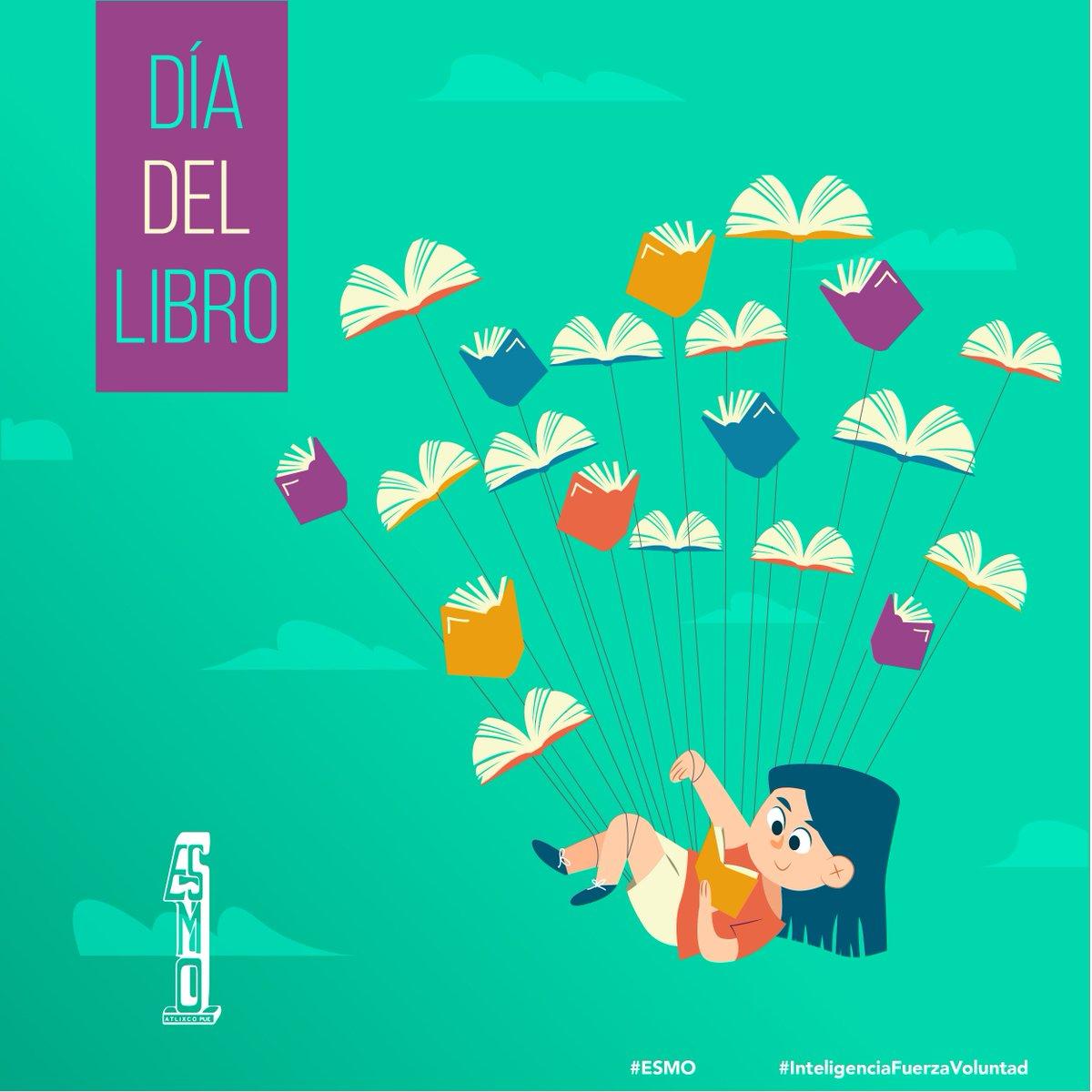 📚 12 de noviembre #DíaNacionalDelLibro 📖  En México se leen en promedio 3.8 libros al año por persona, pero sólo 2 de cada 10 lectores comprende totalmente el contenido que leyó.   #ESMO #InteligenciaFuerzaVoluntad #Atlixco #Puebla #EducaciónBásica #AccionesPorLaEducación