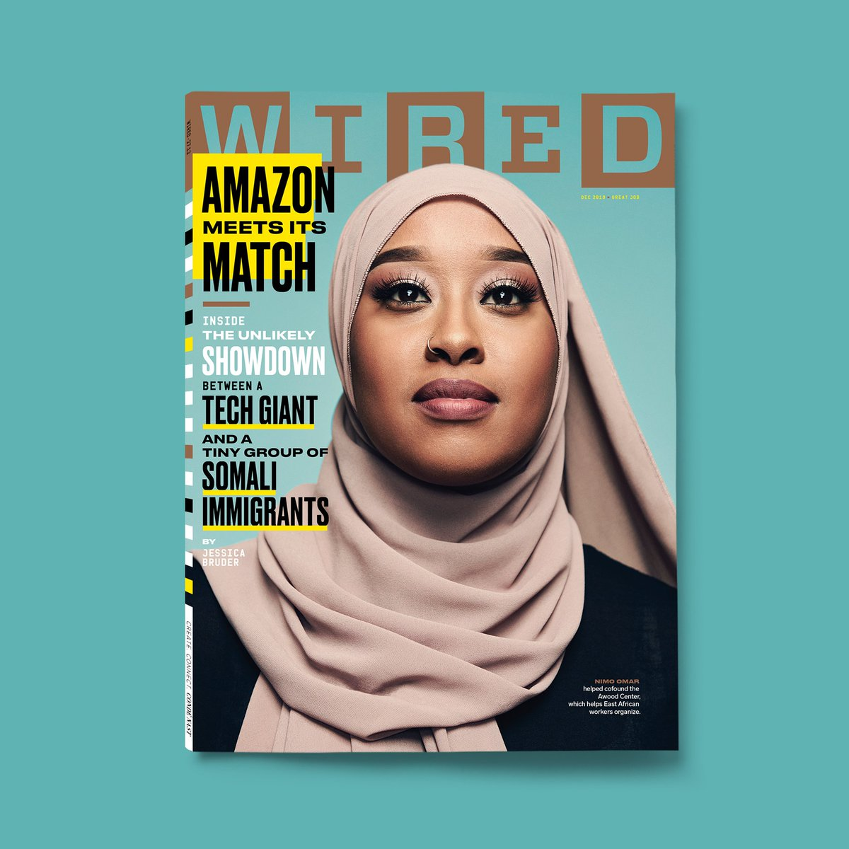 Our new @wired cover, featuring a riveting @jessbruder  feature on the Somali immigrants who were actually able to bring Amazon to the negotiating table. #mustread https://t.co/peyoVY7Ob5 https://t.co/S4RNAvsIsp