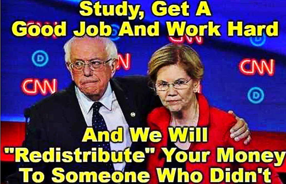 These two are really a piece of work and Bernie has added AOC into the mix, oh my... #NEVERSOCIALISM   <br>http://pic.twitter.com/TgduliICnj