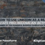 LinkedIn is a fantastic tool for managing and growing your professional network. It's also the perfect platform for your business content and establishes your credibility. Check out our blog post, https://t.co/laA1fC32rp to learn more! #DigitizedAgent#LinkedIn