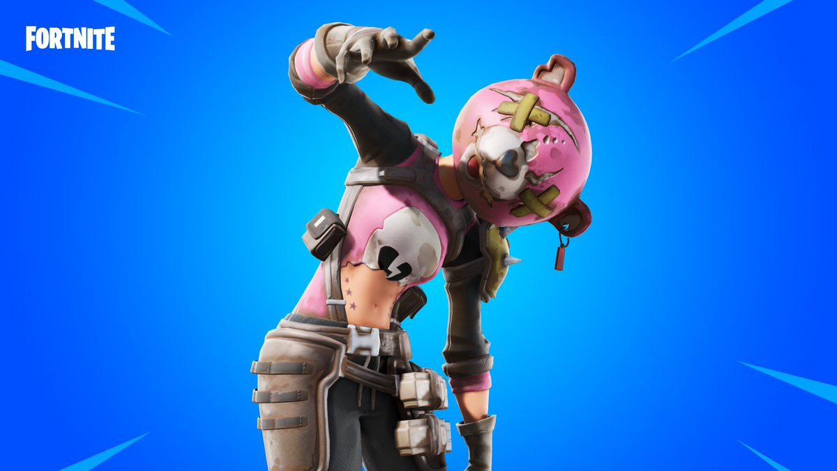 Your worst nightbear is back.  The Ragsy Outfit is available in the Item Shop now!