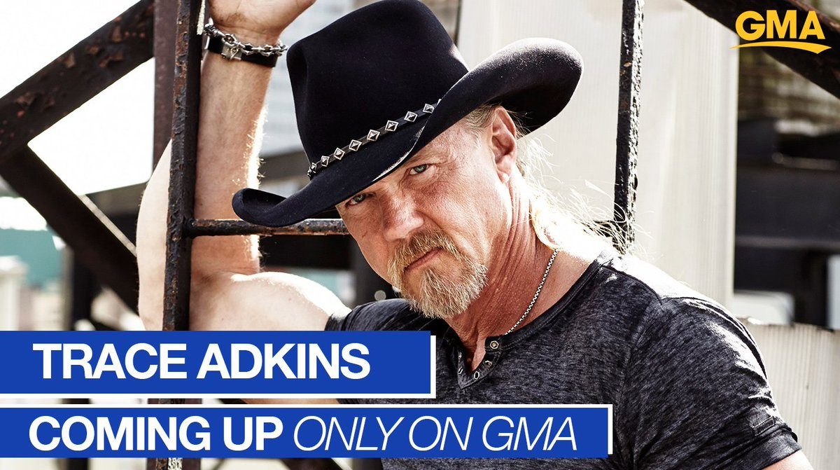 COMING UP: Country superstar @traceadkins drops by @GMA in Nashville ahead of the #CMAawards! You don't want to miss this! gma.abc/2ZzRteQ