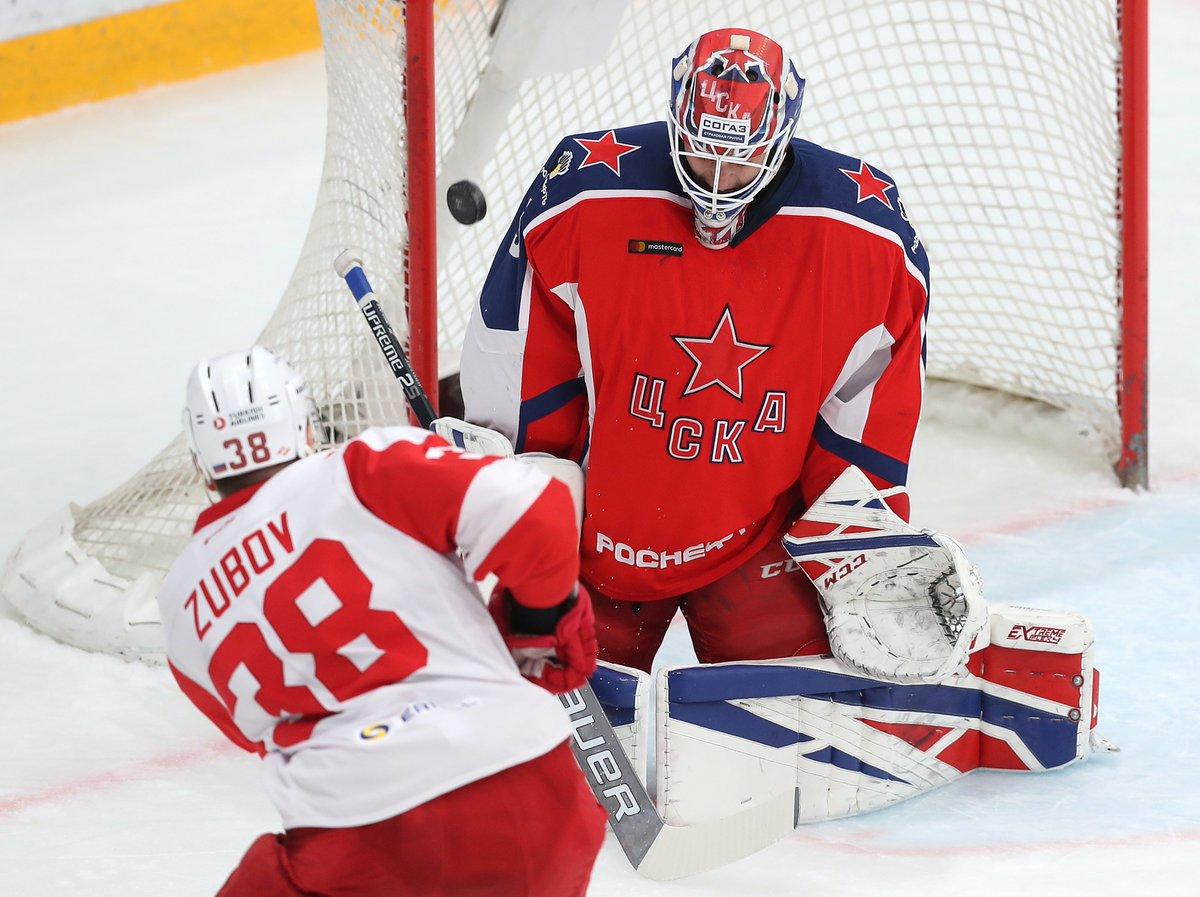 «Спартак» в овертайме вырвал победу у ЦСКА (Видео)