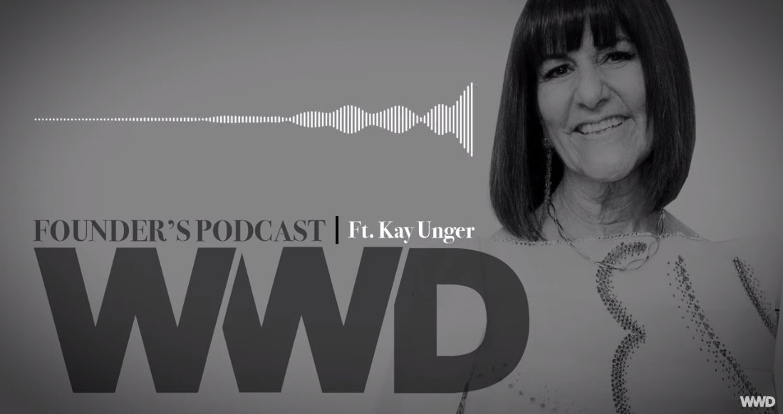 Parsons alumna @KayUngerDesign sat down with @fashionkales on @wwd's Founder's Podcast to discuss Kay's career and evolution as a fashion designer, an entrepreneur, and a philanthropist.   Listen here: https://t.co/8kxhvJgFhO  #ParsonsProud https://t.co/bpbn5L3BZ2