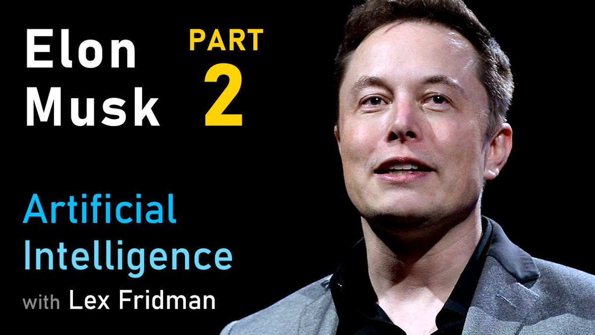 Heres my new conversation with Elon Musk (@elonmusk), his second time on the Artificial Intelligence podcast. We talk about Neuralink, AI, Autopilot, and the Pale Blue Dot. Watch it here: youtube.com/watch?v=smK9dg…