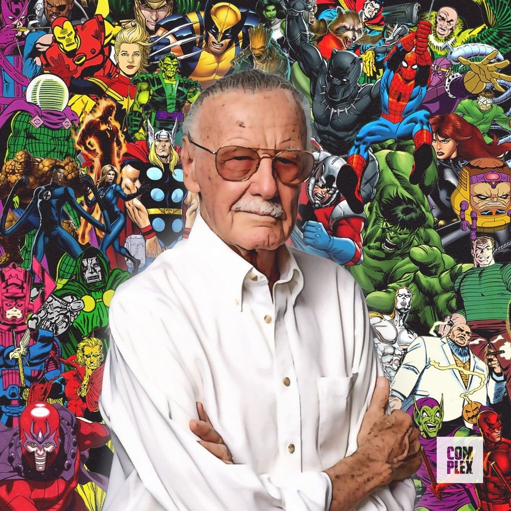 @Complex's photo on Stan Lee