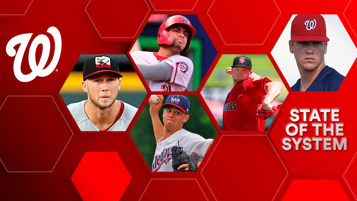 The #Nats won the #WorldSeries with a homegrown core, but with several players hitting the open market, turnover looms. @GoldenSombrero looks at the state of the @Nationals farm system, which is highlighted by two Top 100 hitters & a deep crop of arms: atmlb.com/2X9ytza
