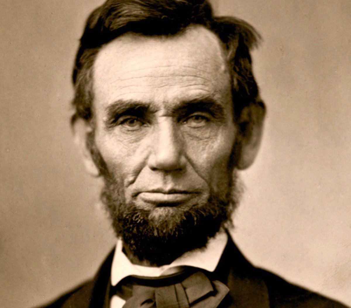 Abraham Lincoln, photographed this week 1863:        #Gardner