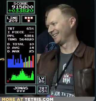 Happy Tuesday to everyone but especially to @neubsauce, the NES Tetris champion who wore Tee K.O. shirts to some of his competitions. 👏
