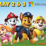 Image for the Tweet beginning: JUST ANNOUNCED: @PAWPatrolLive is coming