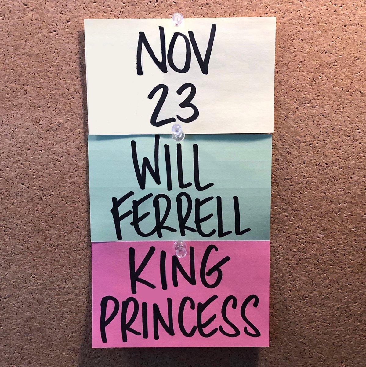 ‼️ November 23 ‼️ Will Ferrell @KingPrincess69