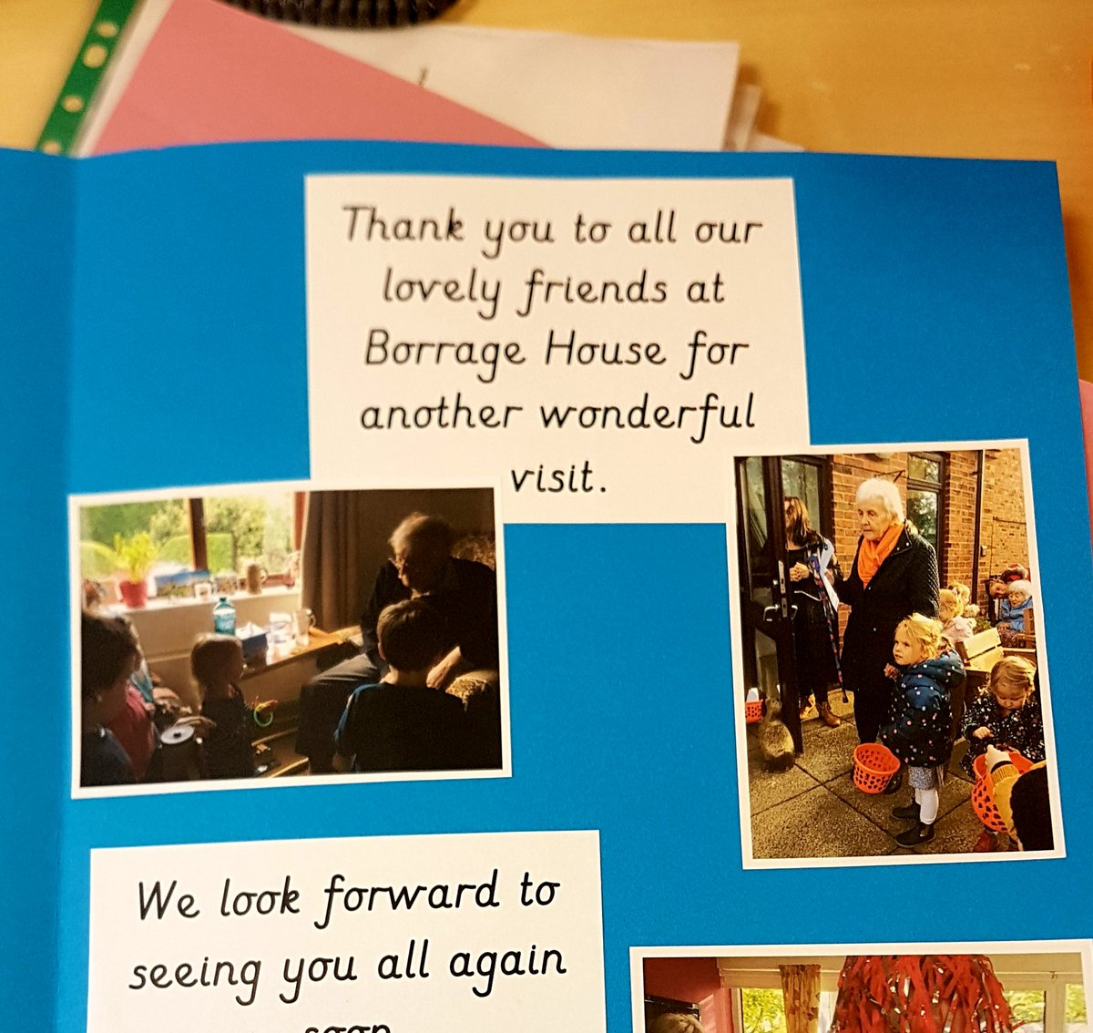 Borrage House Twitter post
