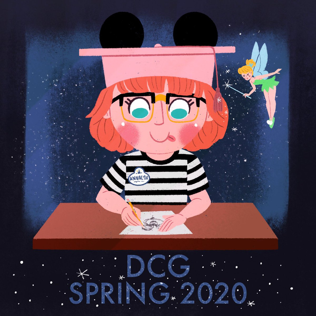 I am so excited to announce that I have accepted an offer with Disney Creative Group as a Graphic Design Artist Intern!!! This January I'll be moving to Orlando to work alongside the other designers responsible for the merchandise found in Disney's parks and resorts! <br>http://pic.twitter.com/EWkP0c2XXG