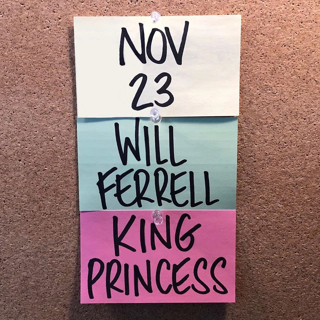 I will be living my wettest dream by playing SNL on November 23rd. Will Ferrell has me gagged and gooped.