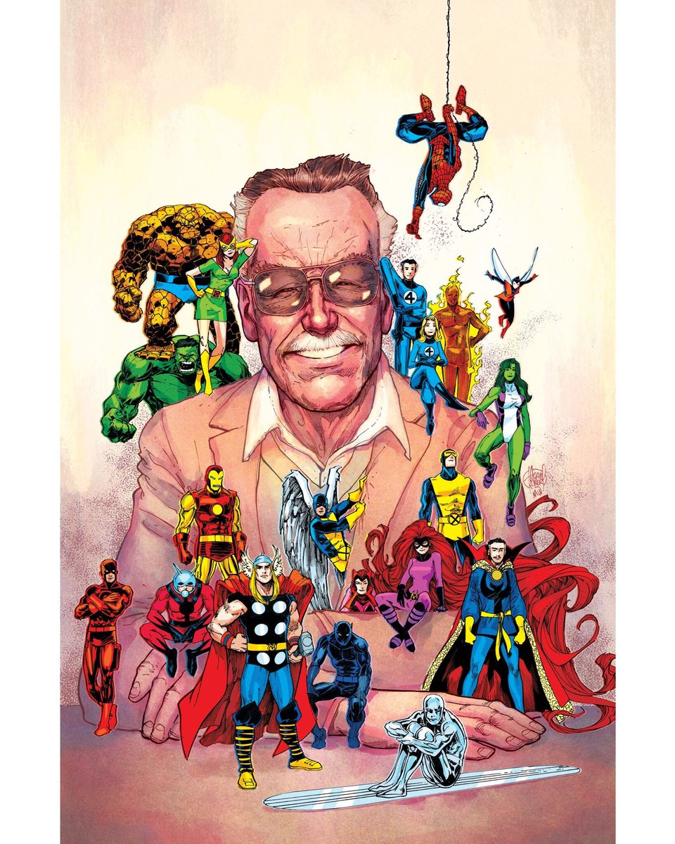 "Remembering Stan ""The Man"" Lee: his legacy will live on in the Marvel Universe and the hearts of Marvel fans everywhere."