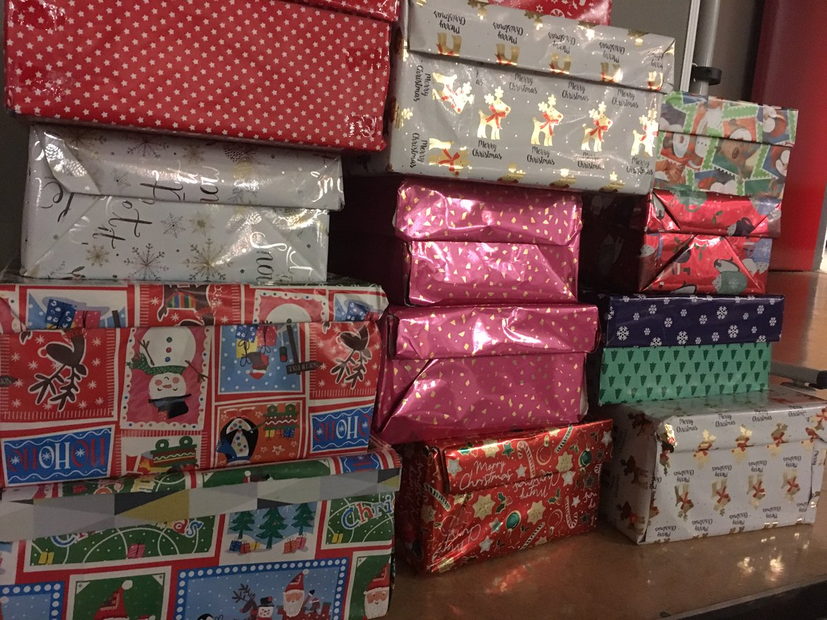 test Twitter Media - Christmas Shoeboxes are building up in the school but there are still a couple of days left to bring in more - please help us support the fantastic work of @TeamHopeIreland who deliver Christmas gifts to children in Africa & Eastern Europe. @annetteblack6 https://t.co/b6l4nbCA6W