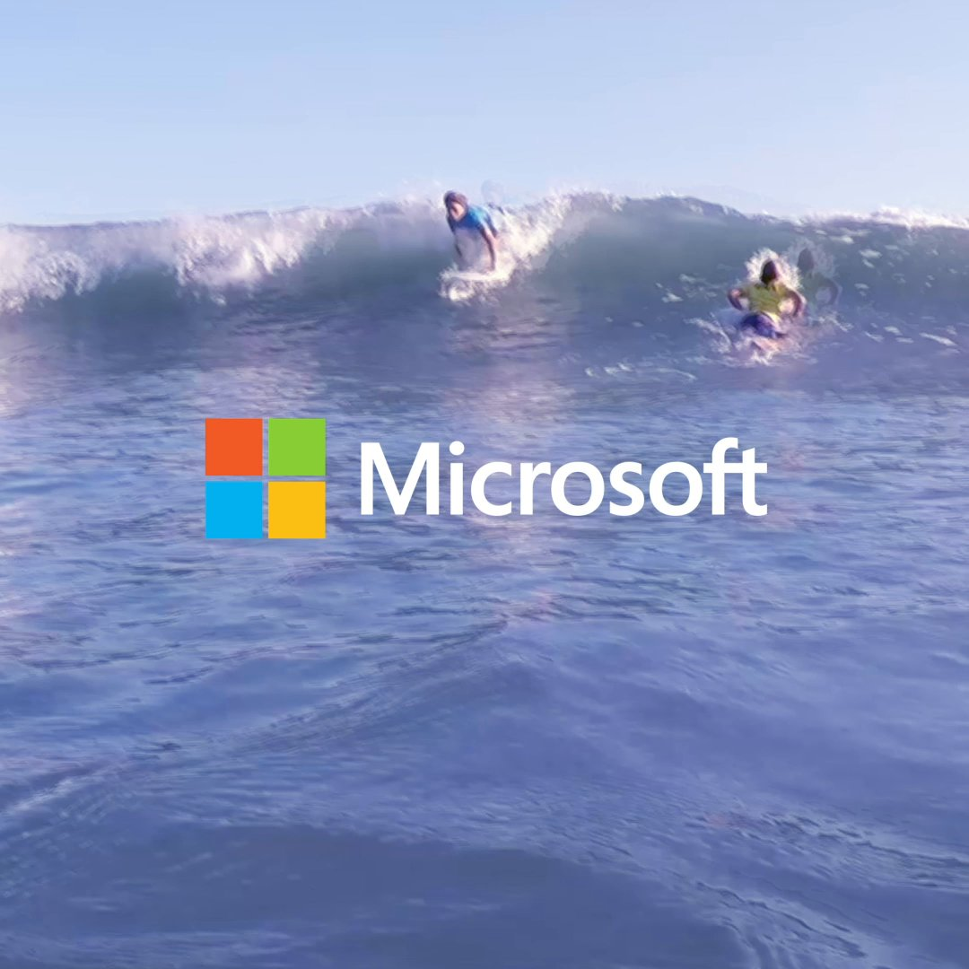 See what happens when #surfing students at the Gabriel Medina Institute improve their performance on the waves with data from their Microsoft Cloud-connected surfboard: http://msft.social/K0mKEl
