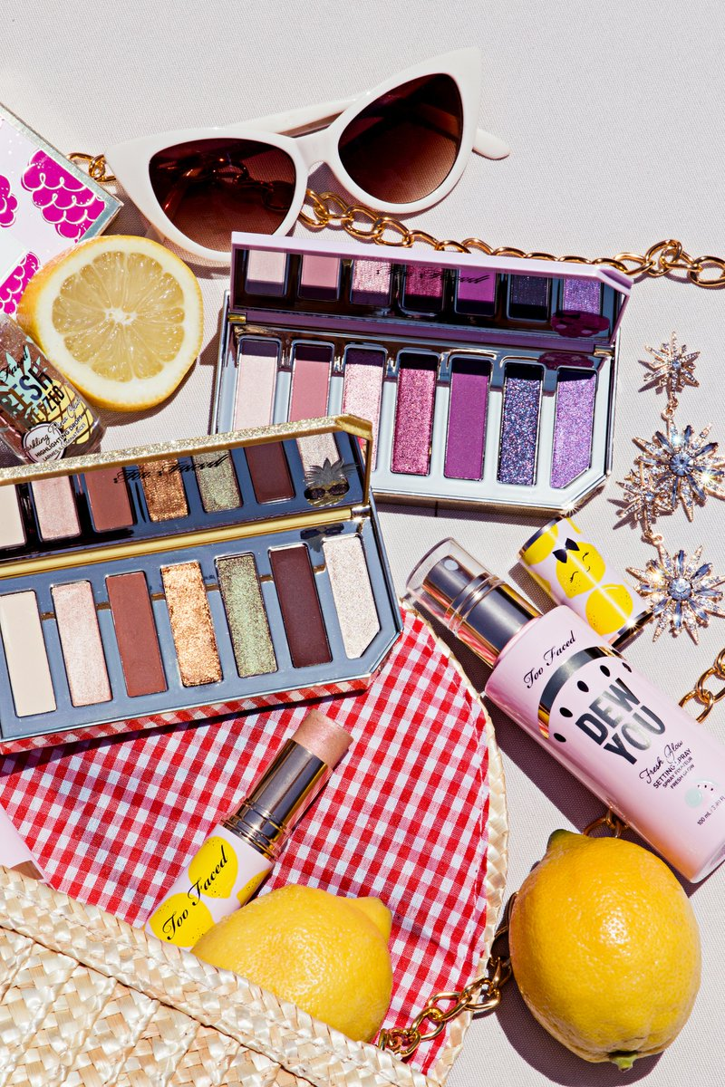 RUN DON'T WALK! 👟 Our Tutti Frutti Collection is 40% off RIGHT NOW ON http://TOOFACED.COM! PLUS- get FREE SHIPPING with purchase of Better Than Sex Tutti Frutti Edition Use code: TUTTITREATS Shop your faves NOW: http://bit.ly/2Kfo7bY