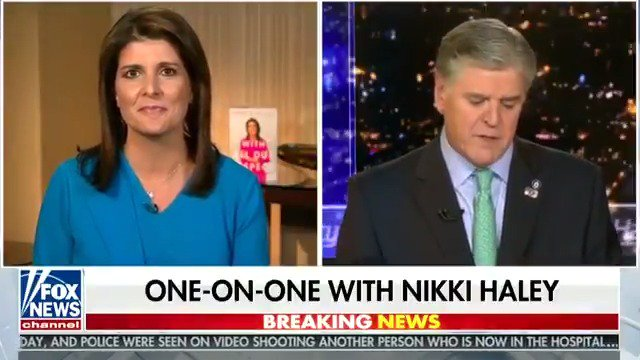 Nikki Haley: President @realDonaldTrump has built up a long list of tough achievements on the world stage—and Democrats have been trying to impeach him since the second he was inaugurated.