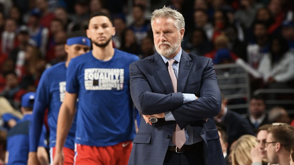 The Q&A: Brett Brown on building culture, giving back and his 'greatest challenge' this season   👉: https://on.nba.com/371kjVl